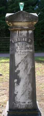 WILLIAMS, DIGHTON D. - Lewis County, New York | DIGHTON D. WILLIAMS - New York Gravestone Photos