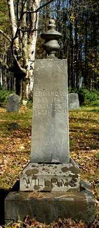 WILLIAMS, EDWARD D. - Lewis County, New York   EDWARD D. WILLIAMS - New York Gravestone Photos