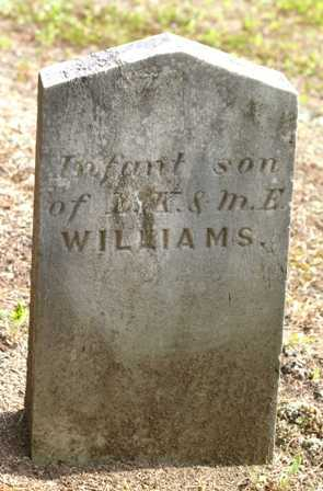 WILLIAMS, INFANT SON - Lewis County, New York | INFANT SON WILLIAMS - New York Gravestone Photos