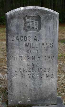 WILLIAMS, JACOB A - Lewis County, New York   JACOB A WILLIAMS - New York Gravestone Photos