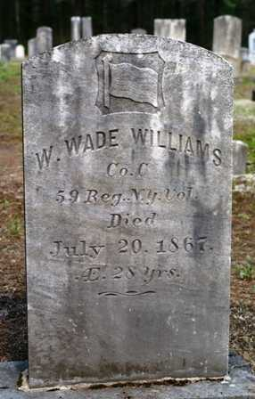 WILLIAMS, WILLIAM WADE - Lewis County, New York | WILLIAM WADE WILLIAMS - New York Gravestone Photos