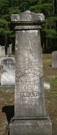 WILLIAMS, POLLY - Lewis County, New York | POLLY WILLIAMS - New York Gravestone Photos