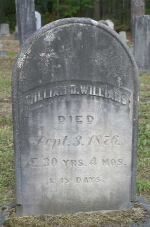 WILLIAMS, WILLIAM D. - Lewis County, New York   WILLIAM D. WILLIAMS - New York Gravestone Photos