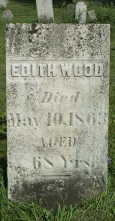 WOOD, EDITH - Lewis County, New York | EDITH WOOD - New York Gravestone Photos