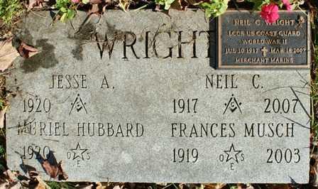 WRIGHT, NEIL C. - Lewis County, New York | NEIL C. WRIGHT - New York Gravestone Photos
