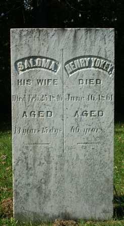 YOKEY, HENRY - Lewis County, New York | HENRY YOKEY - New York Gravestone Photos