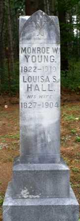 HALL, LOUISA S - Lewis County, New York | LOUISA S HALL - New York Gravestone Photos