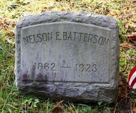 BATTERSON, NELSON E. - Livingston County, New York | NELSON E. BATTERSON - New York Gravestone Photos