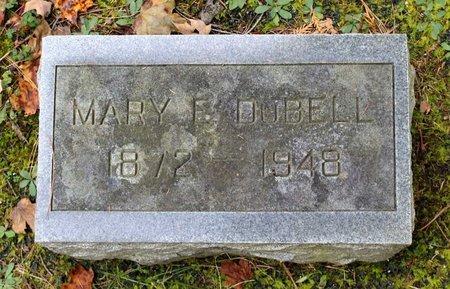 DUBELL, MARY E. - Livingston County, New York | MARY E. DUBELL - New York Gravestone Photos