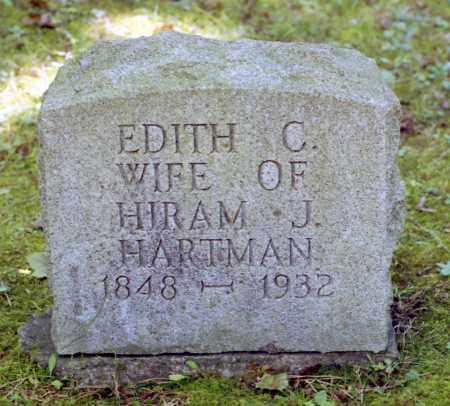 HARTMAN, EDITH C. - Livingston County, New York | EDITH C. HARTMAN - New York Gravestone Photos