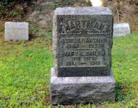 HARTMAN, MARY ELIZABETH - Livingston County, New York | MARY ELIZABETH HARTMAN - New York Gravestone Photos