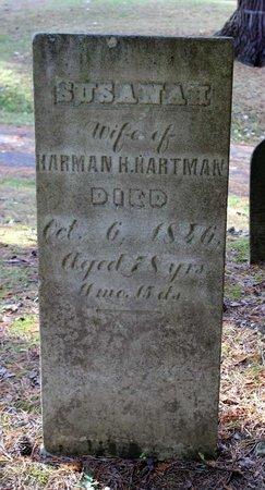 HARTMAN, SUSANAH - Livingston County, New York   SUSANAH HARTMAN - New York Gravestone Photos