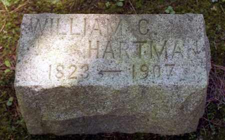 HARTMAN, WILLIAM C. - Livingston County, New York   WILLIAM C. HARTMAN - New York Gravestone Photos