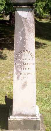 KNOUSE, HENRY - Livingston County, New York | HENRY KNOUSE - New York Gravestone Photos