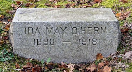 O'HERN, IDA MAY - Livingston County, New York | IDA MAY O'HERN - New York Gravestone Photos