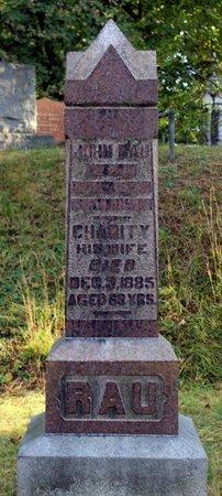 RAU, CHARITY - Livingston County, New York | CHARITY RAU - New York Gravestone Photos
