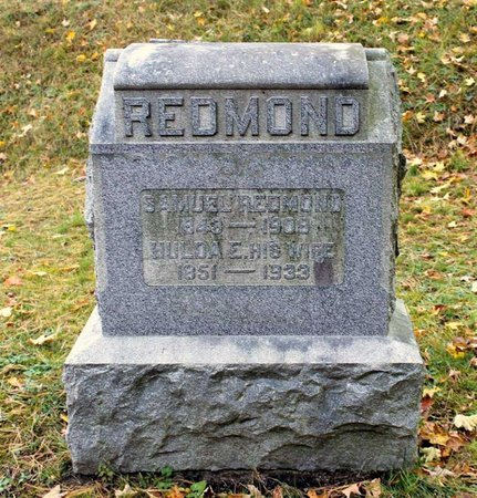 REDMOND, HULDA E. - Livingston County, New York   HULDA E. REDMOND - New York Gravestone Photos