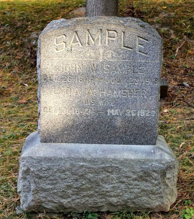 SAMPLE, LYDIA A. - Livingston County, New York | LYDIA A. SAMPLE - New York Gravestone Photos