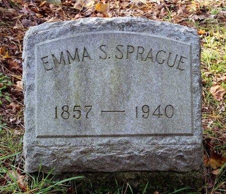 SPRAGUE, EMMA S. - Livingston County, New York | EMMA S. SPRAGUE - New York Gravestone Photos