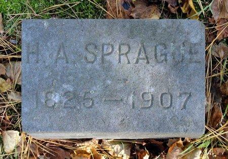 SPRAGUE, HARVEY A. - Livingston County, New York | HARVEY A. SPRAGUE - New York Gravestone Photos