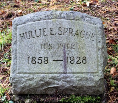SPRAGUE, HULLIE E. - Livingston County, New York | HULLIE E. SPRAGUE - New York Gravestone Photos