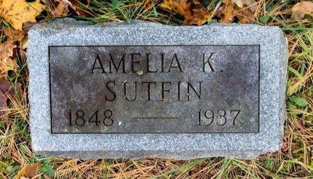SUTFIN, AMELIA K. - Livingston County, New York | AMELIA K. SUTFIN - New York Gravestone Photos