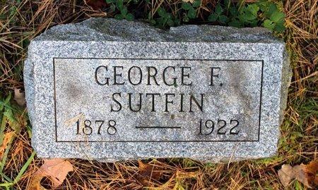 SUTFIN, GEORGE F. - Livingston County, New York | GEORGE F. SUTFIN - New York Gravestone Photos