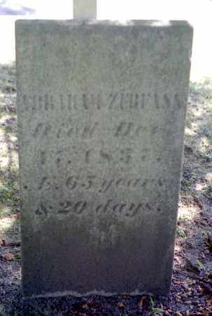 ZERFASS, ABRAHAM - Livingston County, New York | ABRAHAM ZERFASS - New York Gravestone Photos