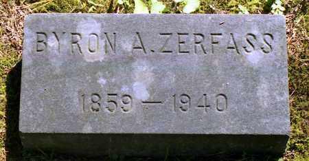 ZERFASS, BYRON ALLEN - Livingston County, New York | BYRON ALLEN ZERFASS - New York Gravestone Photos
