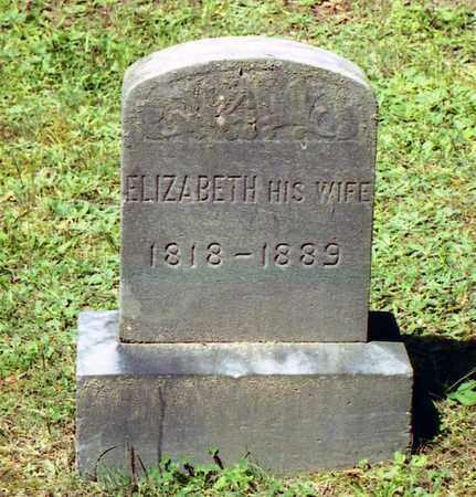 ZERFASS, ELIZABETH - Livingston County, New York | ELIZABETH ZERFASS - New York Gravestone Photos