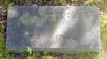 ZERFASS, IDA MAY - Livingston County, New York | IDA MAY ZERFASS - New York Gravestone Photos