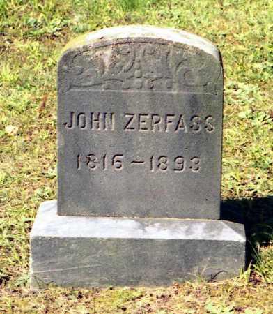 ZERFASS, JOHN - Livingston County, New York | JOHN ZERFASS - New York Gravestone Photos
