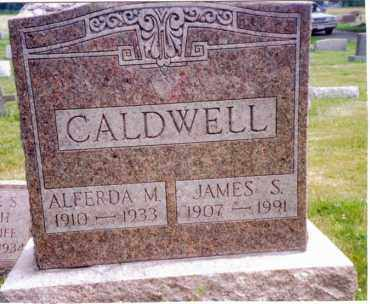 CALDWELL, ALFERDA M - Madison County, New York | ALFERDA M CALDWELL - New York Gravestone Photos
