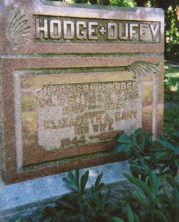 HODGE, ELIZABETH A. - Madison County, New York | ELIZABETH A. HODGE - New York Gravestone Photos