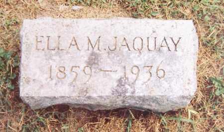JAQUAY, ELLA M. - Madison County, New York | ELLA M. JAQUAY - New York Gravestone Photos