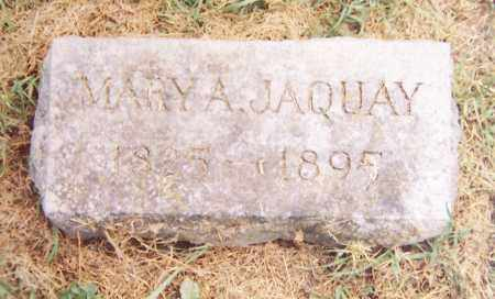 ROBERTS JAQUAY, MARY A. - Madison County, New York | MARY A. ROBERTS JAQUAY - New York Gravestone Photos