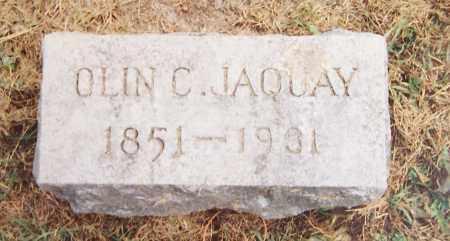 JAQUAY, OLIN C. - Madison County, New York | OLIN C. JAQUAY - New York Gravestone Photos