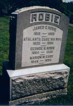 ROBIE, GEORGE B. - Madison County, New York   GEORGE B. ROBIE - New York Gravestone Photos