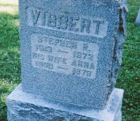 VIBBERT, ANNA - Madison County, New York | ANNA VIBBERT - New York Gravestone Photos