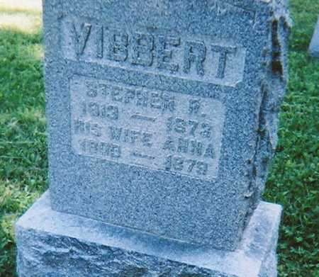 VIBBERT, STEPHEN R. - Madison County, New York | STEPHEN R. VIBBERT - New York Gravestone Photos