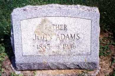 ADAMS, JOHN - Monroe County, New York | JOHN ADAMS - New York Gravestone Photos
