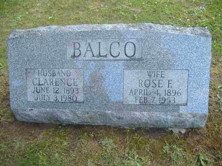 FORD BALCO, ROSE - Monroe County, New York | ROSE FORD BALCO - New York Gravestone Photos
