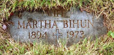 KOHUT BIHUN, MARTHA - Monroe County, New York   MARTHA KOHUT BIHUN - New York Gravestone Photos