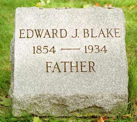 BLAKE, EDWARD - Monroe County, New York | EDWARD BLAKE - New York Gravestone Photos