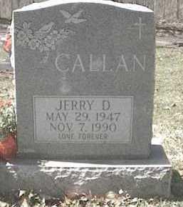 CALLAN, JERRY D. - Monroe County, New York | JERRY D. CALLAN - New York Gravestone Photos
