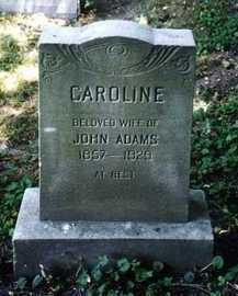 ADAMS, CAROLINE - Monroe County, New York | CAROLINE ADAMS - New York Gravestone Photos