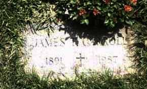 CARROLL, JAMES - Monroe County, New York   JAMES CARROLL - New York Gravestone Photos