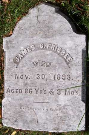 FRISBEE, JAMES GARDNER - Monroe County, New York | JAMES GARDNER FRISBEE - New York Gravestone Photos