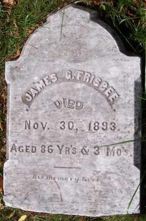 FRISBEE, JAMES GARDNER - Monroe County, New York | JAMES GARDNER FRISBEE - New York Gravestone Photos