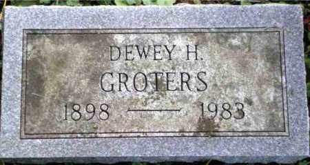 GROTERS, DEWEY - Monroe County, New York | DEWEY GROTERS - New York Gravestone Photos